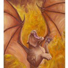 Fire Song Print