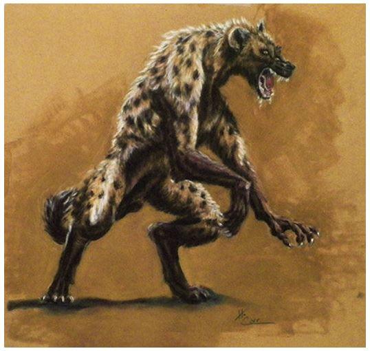 Were-Hyena Print